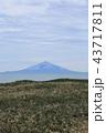 サロベツ原野から見た利尻島 43717811