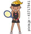 テニス 女子 43717841