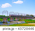 多摩川 京王線 8000系の写真 43720446