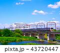 多摩川 京王線 8000系の写真 43720447