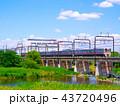多摩川を渡る京王線9000系 43720496