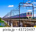 多摩川を渡る京王線9000系 43720497
