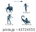 ゾディアック 占星術 星占いのイラスト 43724555