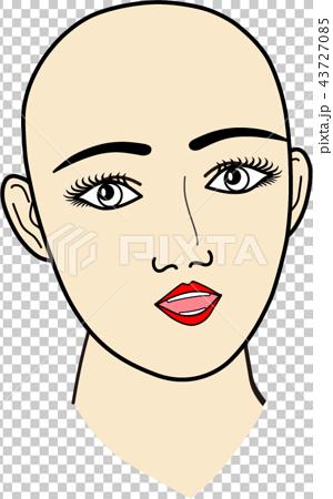 女性の顔:無題4 43727085