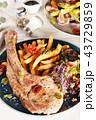 Tomahawk pork chop  43729859