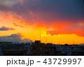 雲と富士山 43729997
