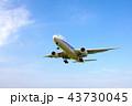 青空と飛行機 43730045
