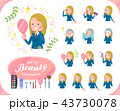 flat type school girl White_beauty 43730078