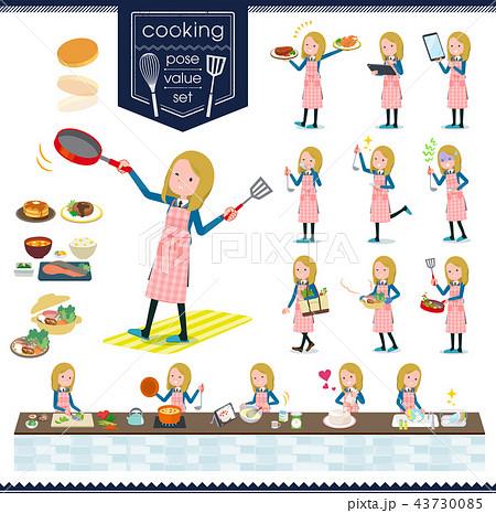 flat type school girl White_cooking 43730085