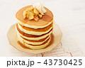 パンケーキ ホットケーキ デザートの写真 43730425