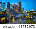night view of daan park station in taipei 43732973