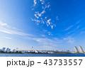 お台場 東京湾 海の写真 43733557