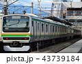 高崎線 列車 乗り物の写真 43739184