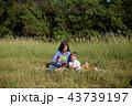 ピクニック 人々 人物の写真 43739197