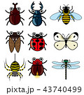 昆虫 擬人化 キャラのイラスト 43740499