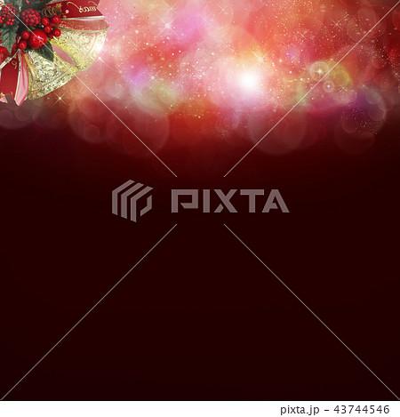 背景-クリスマス-ベル 43744546