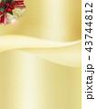 背景 キラキラ 金色のイラスト 43744812