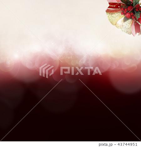 背景-クリスマス-ベル 43744951