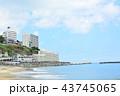静岡県・熱海の海岸 43745065