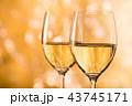白ワイン 43745171