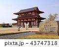 奈良 平城宮跡 朱雀門 43747318