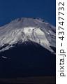 富士山 冬 夜の写真 43747732