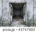 CG 廊下 通路のイラスト 43747883