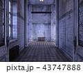CG 廊下 通路のイラスト 43747888