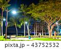 《ハワイ》ワイキキビーチ・夜景 43752532