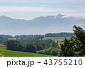 山 空 畑の写真 43755210