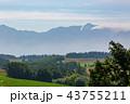 山 空 畑の写真 43755211