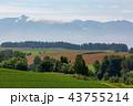 空 丘 畑の写真 43755214