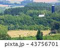 美瑛 風景 畑の写真 43756701