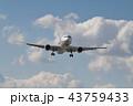 青空と飛行機 43759433