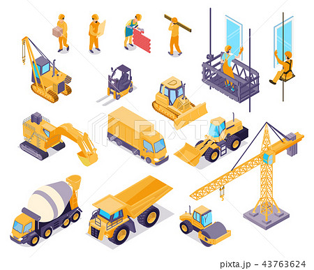 Construction Isometric Set 43763624
