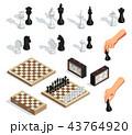 Chess Isometric Set  43764920