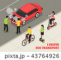 Eco Transport Isometric Poster 43764926