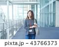 ビジネスウーマン カジュアル 43766373