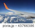 翼 飛行機 空の写真 43766386