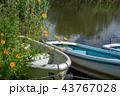 ボート 湖 湖岸の写真 43767028