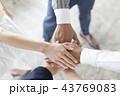 ビジネスイメージ 円陣 43769083