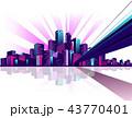 都市 ビル 建物のイラスト 43770401