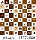 シンボルマーク チョコレート ベクターのイラスト 43771689
