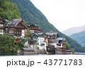 ハルシュタット 湖 オーストリア 43771783