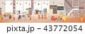 ワークスペース インテリア オフィスのイラスト 43772054