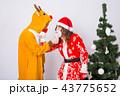 サンタ サンタクロース クリスマスの写真 43775652