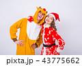 サンタ サンタクロース クリスマスの写真 43775662