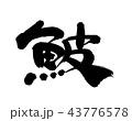 筆文字 習字 文字のイラスト 43776578