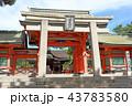 住吉大社の角鳥居(大阪市) 43783580