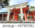 住吉大社の角鳥居(大阪市) 43783581
